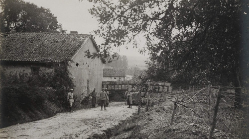 La défense du village de Béthincourt - 1914/1918